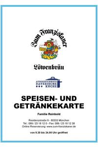 Zum Franziskaner_Speisen_und_Getränke