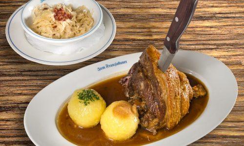 Bayerische Schweinshaxn