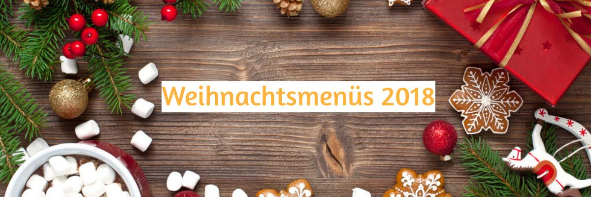 Zum Franziskaner - Weihnachtsmenüs 2018