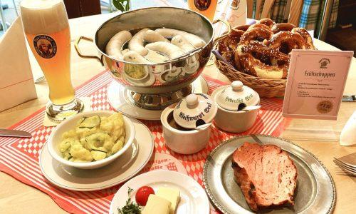 Frühshoppen - Das bayerische Frühstück im Zum Franziskaner München