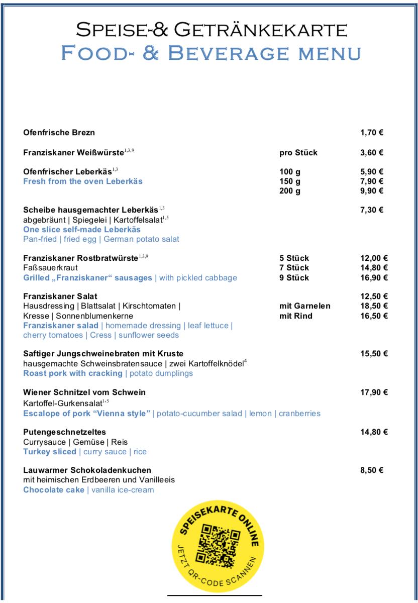 Zum_Franziskaner_Speisenkarte